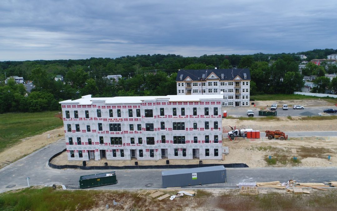 Paddock Pointe Construction Tops Off